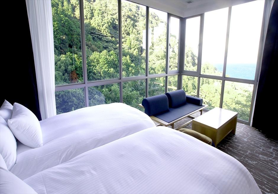 熱海スパ&リゾート 施設写真 マスターベッドルーム