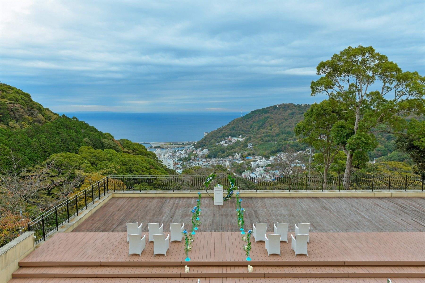 熱海結婚式場全景 静岡結婚式会場 熱海スパ&リゾート