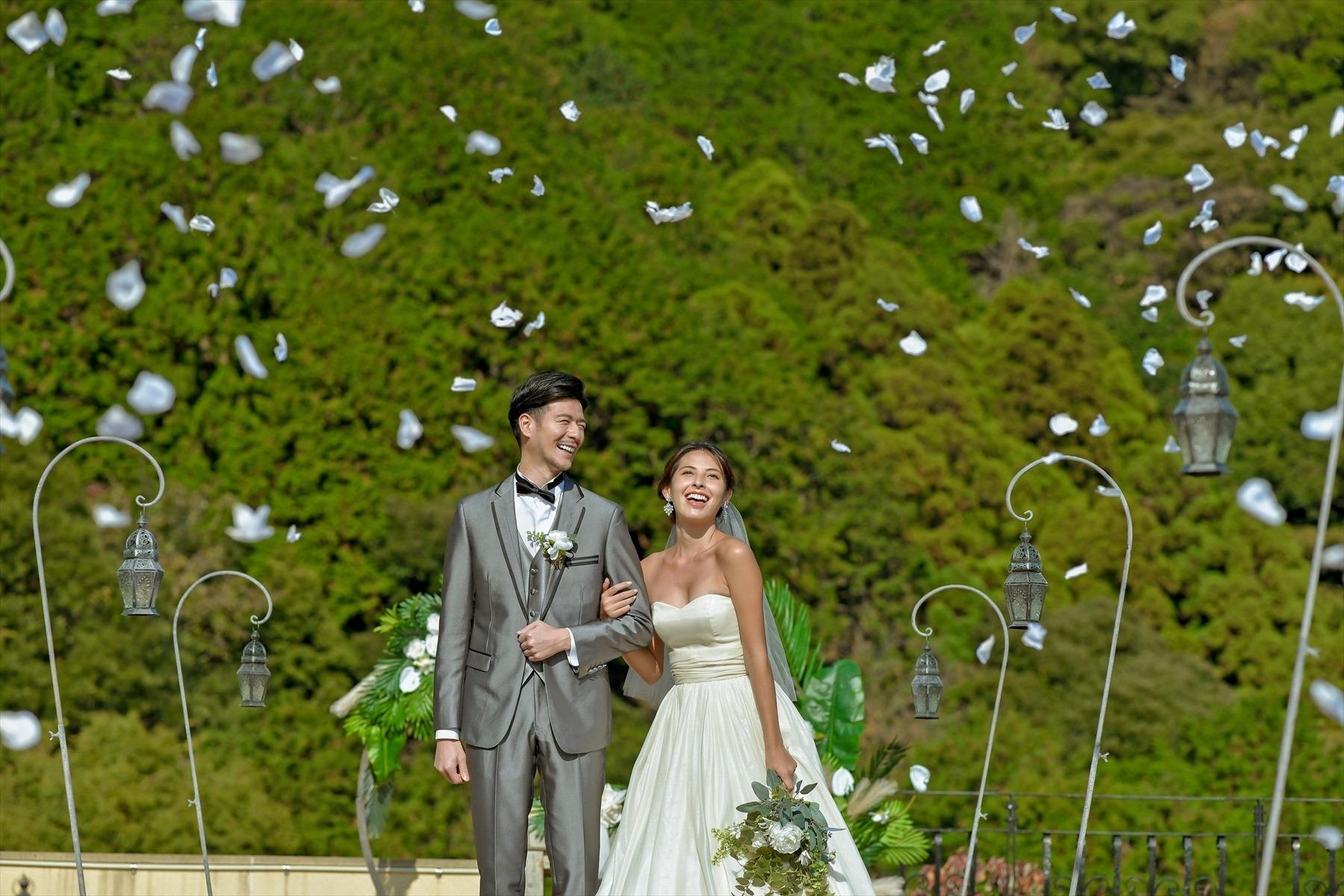 静岡県結婚式 静岡挙式フラワーシャワー