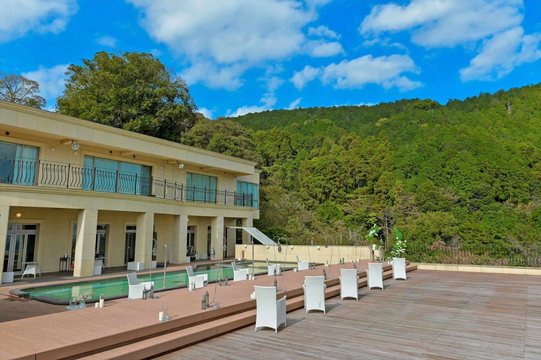 静岡県結婚式会場全景 静岡邸宅貸切結婚式 邸宅ウェディング