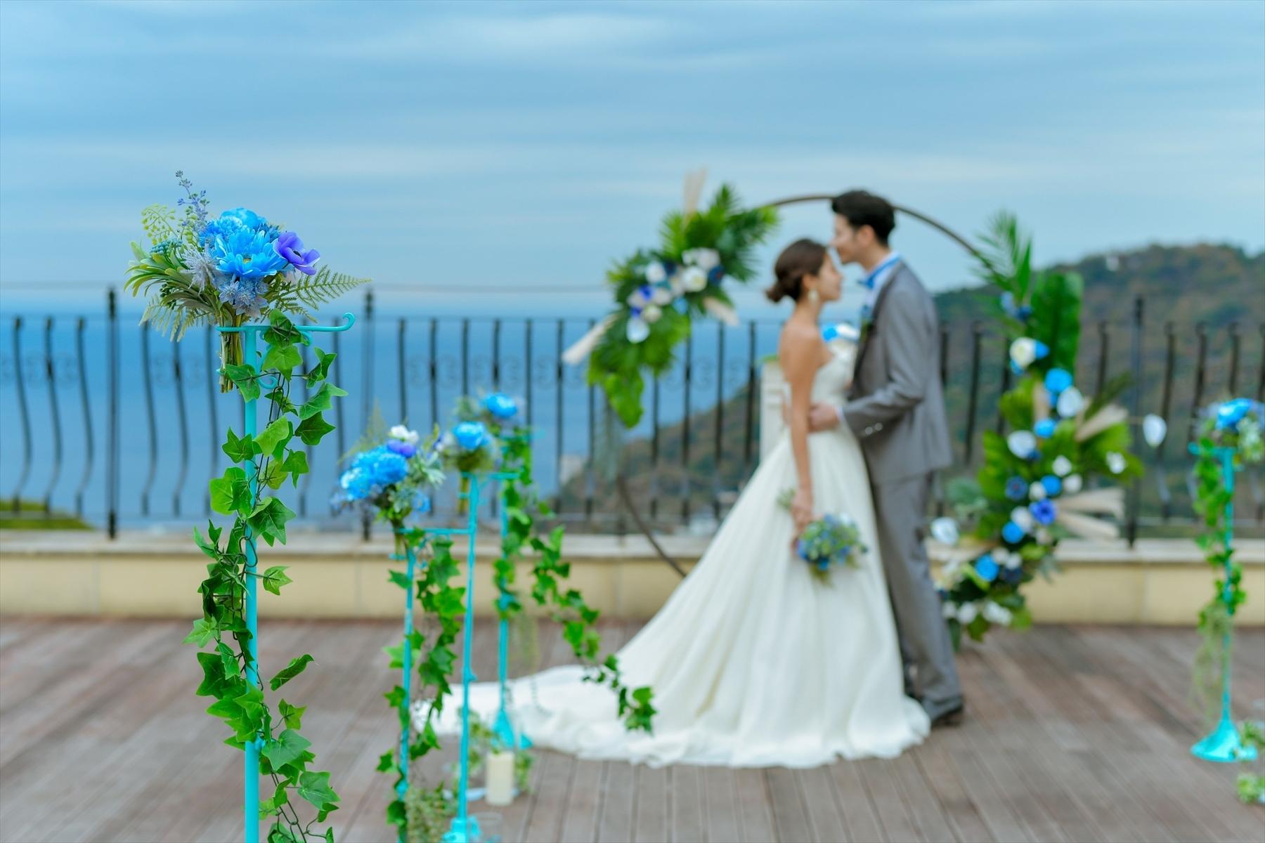 静岡熱海結婚式 ウェディングドレス 熱海スパ&リゾート