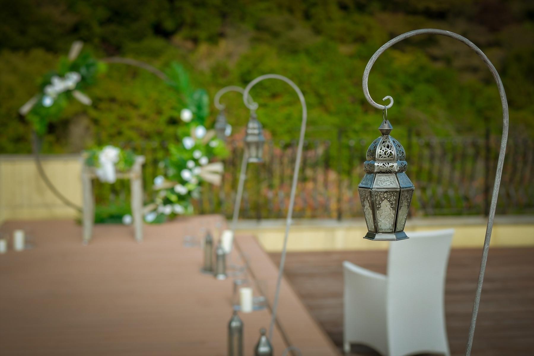 静岡一軒家貸切挙式会場装飾 静岡ウェディング会場 熱海スパ&リゾート