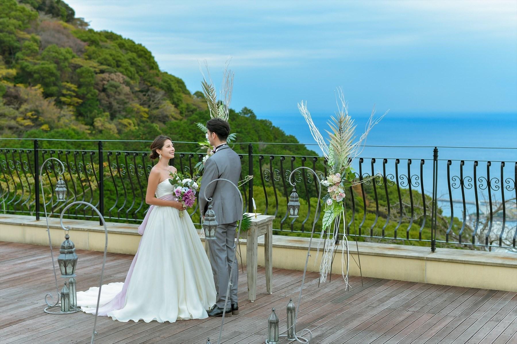 静岡県邸宅結婚式 静岡一軒家ウェディング 熱海スパ&リゾート