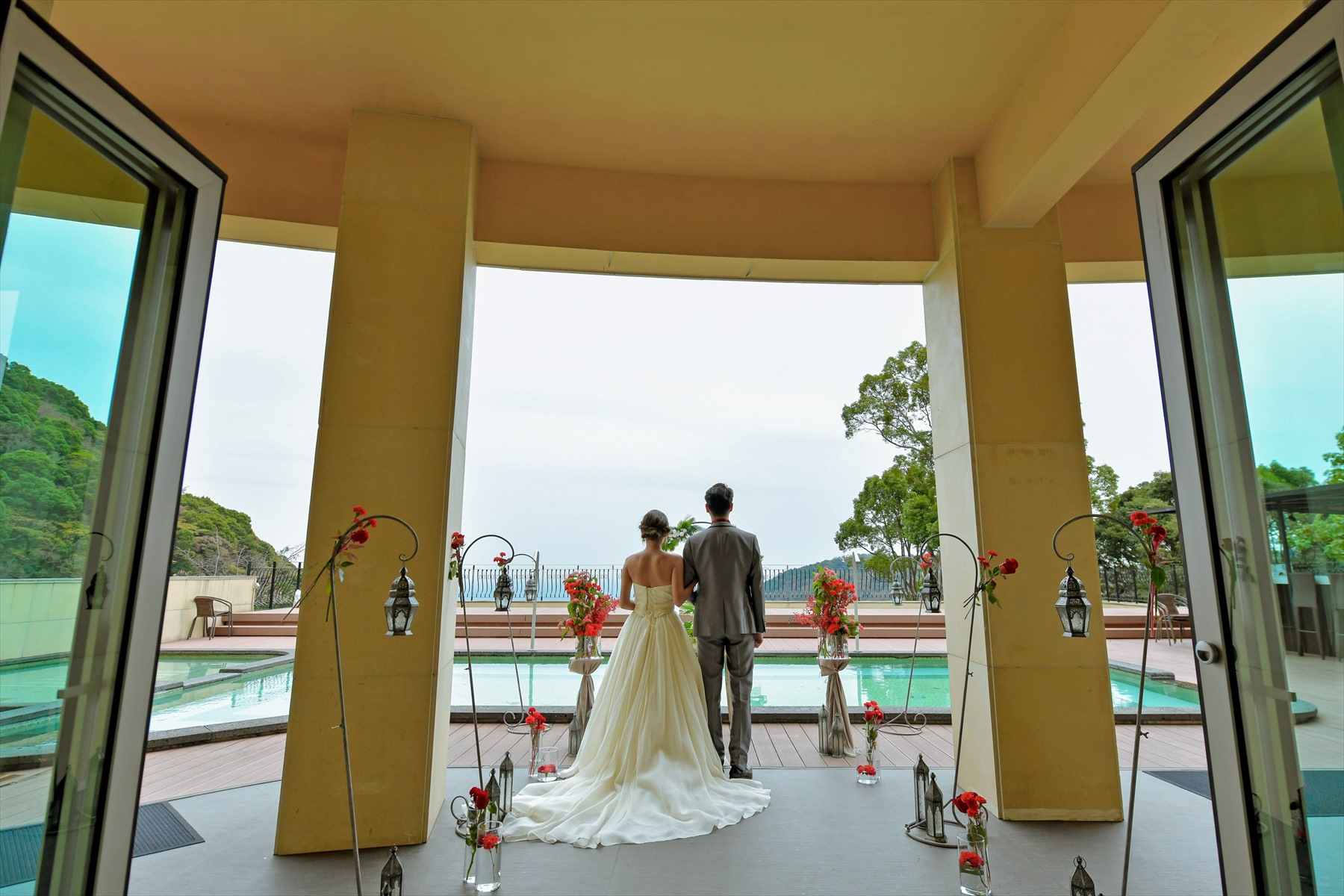 静岡結婚式場 静岡挙式雨天時 アウトドアウェディング雨天時