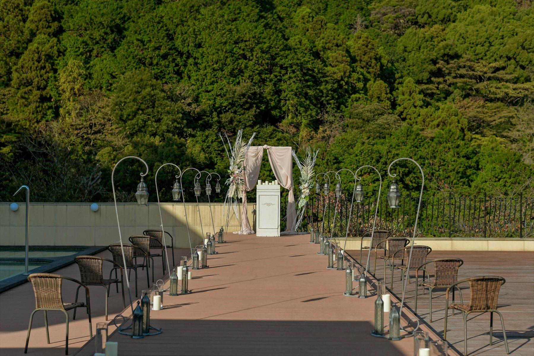 静岡県結婚式 静岡邸宅ウェディング 会場装飾