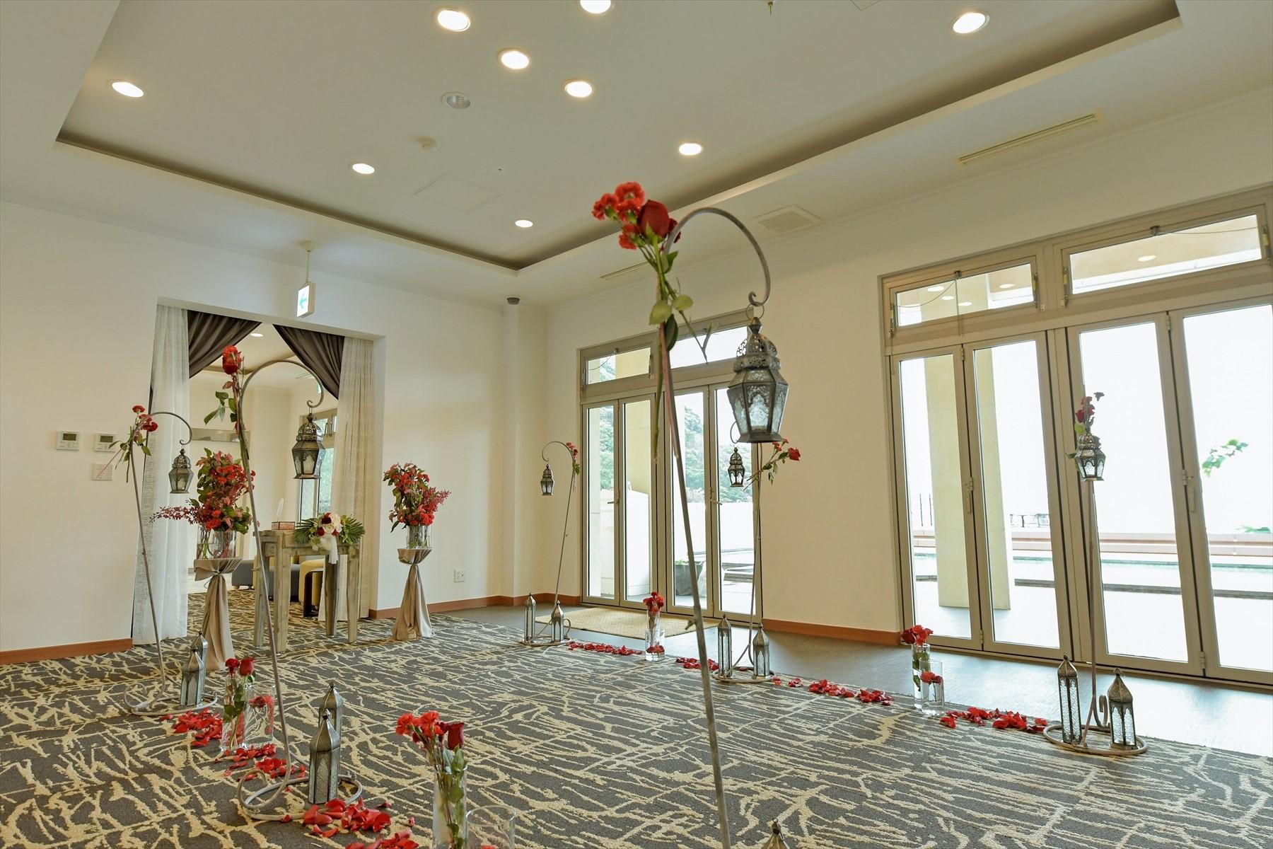 静岡県結婚式場 静岡ウェディング 会場装飾