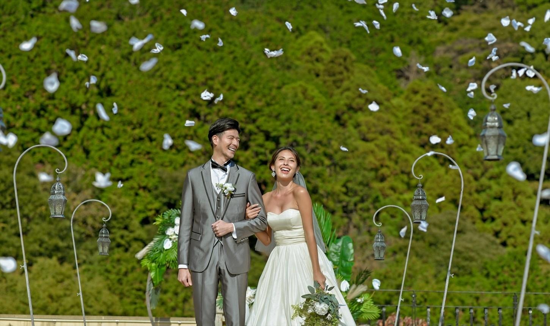 静岡結婚式 静岡挙式会場 フラワーシャワー
