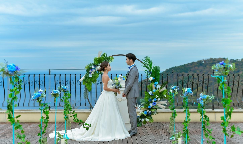 静岡貸切プライベート結婚式 ウェディング会場装飾 静岡結婚式場