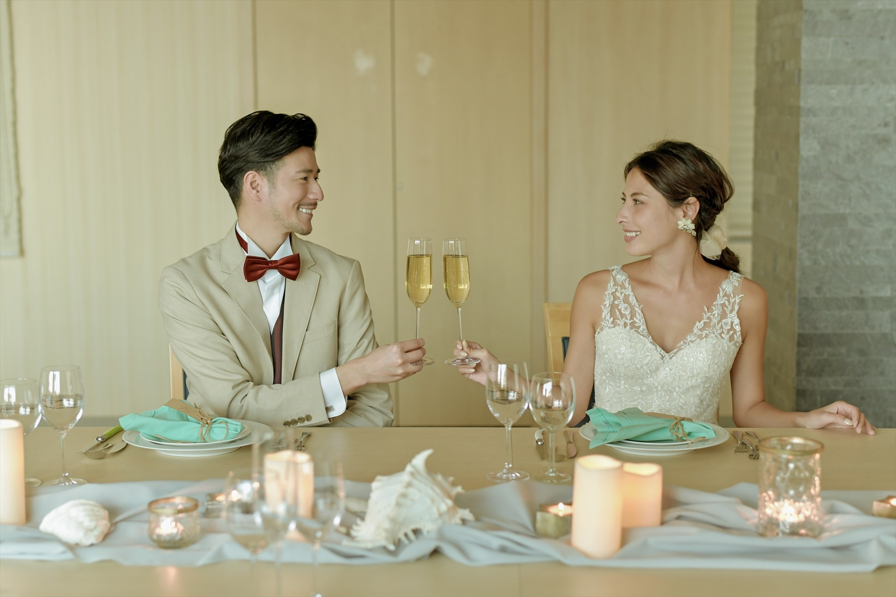 静岡邸宅結婚式 貸切ウェディングパーティー ブライダルフォト