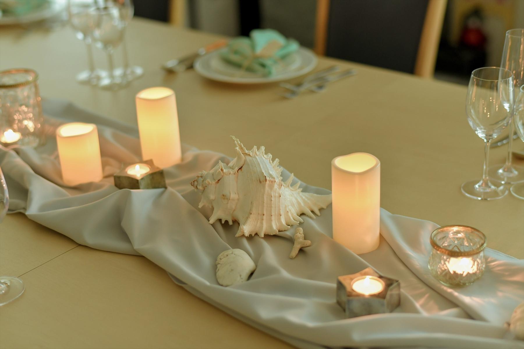 静岡邸宅ウェディング パーティー・テーブルセッティング 静岡ウェディングフォト