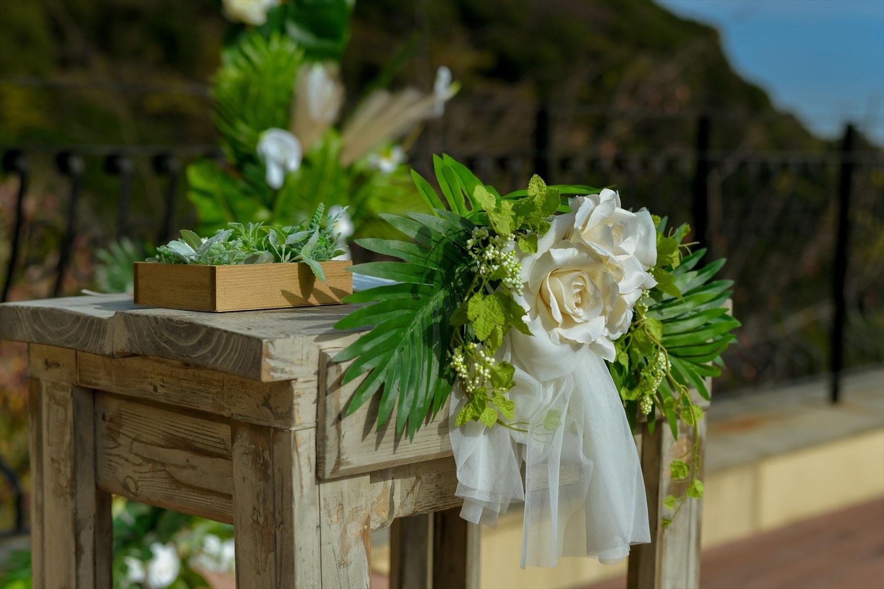 静岡結婚式 静岡県挙式会場装飾 熱海スパ&リゾート