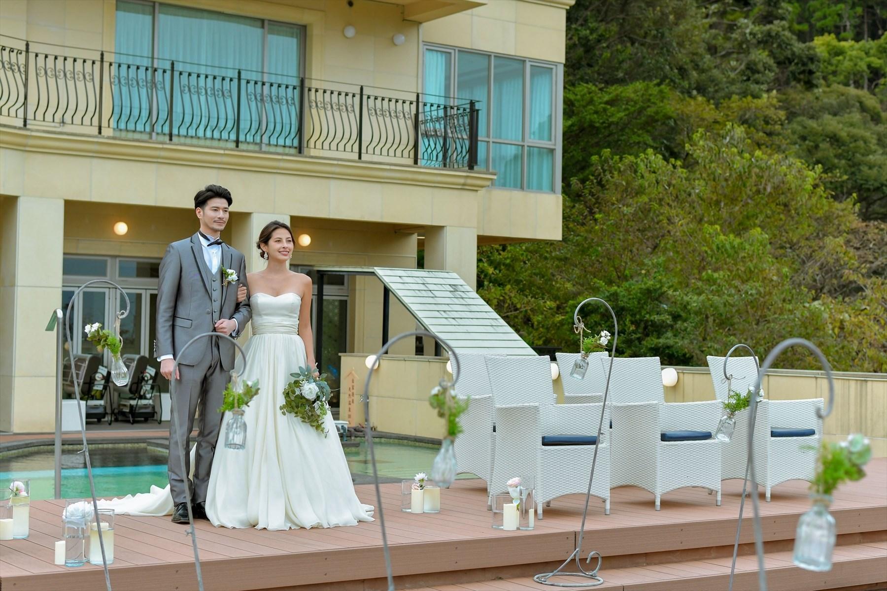 静岡県熱海結婚式 静岡邸宅ウェディング 熱海スパ&リゾート
