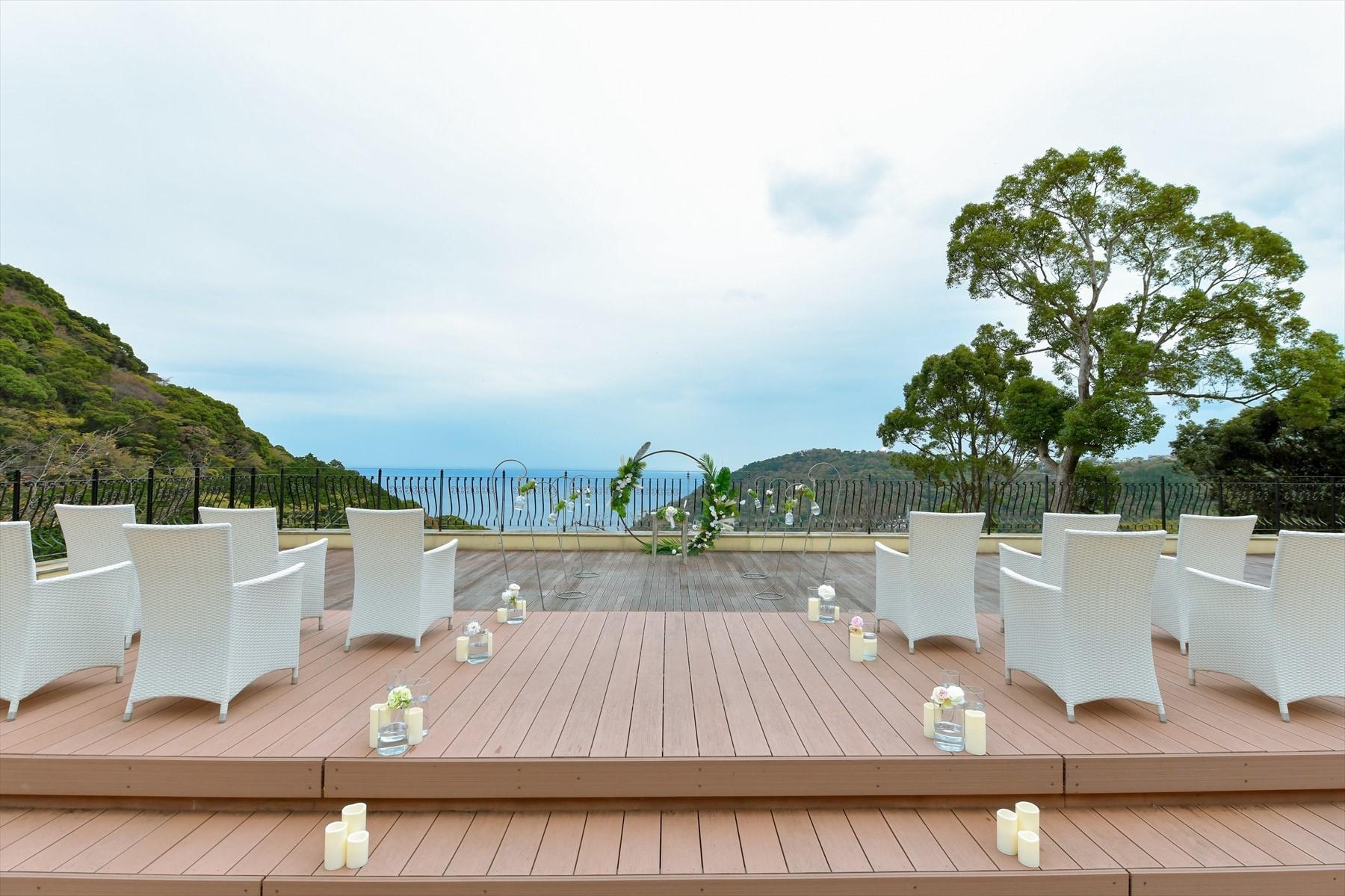 静岡県貸切結婚式 熱海邸宅ウェディング 熱海スパ&リゾート