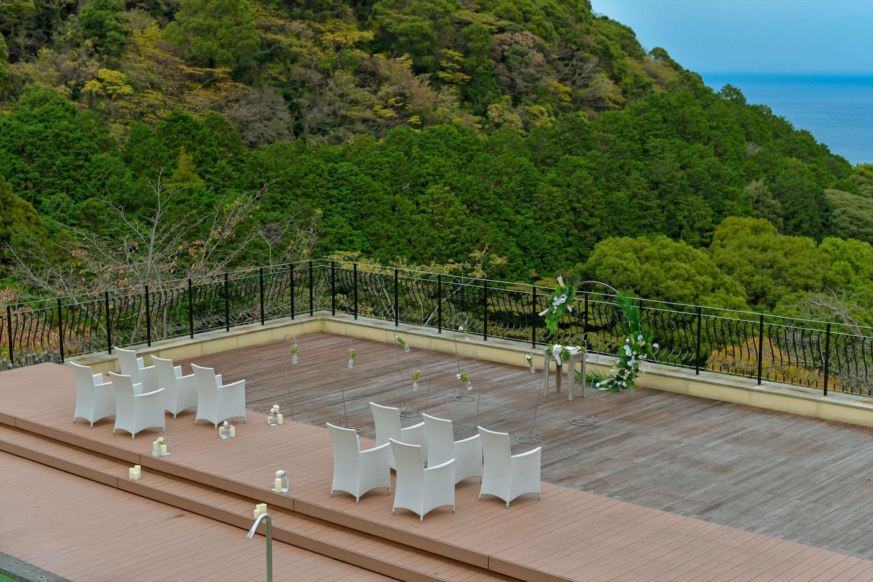 静岡熱海結婚式 熱海結婚式場 会場全景