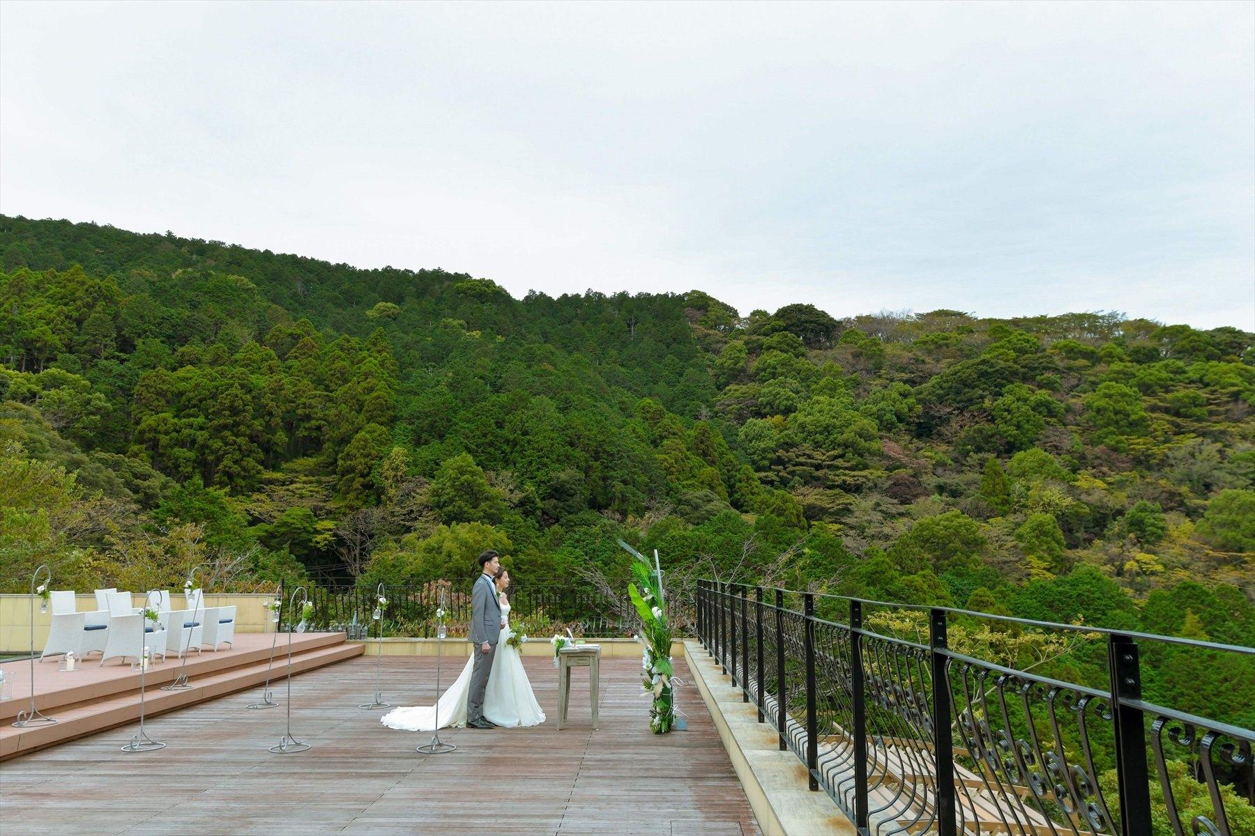 静岡県結婚式 熱海ウェディングフォト 熱海スパ&リゾート