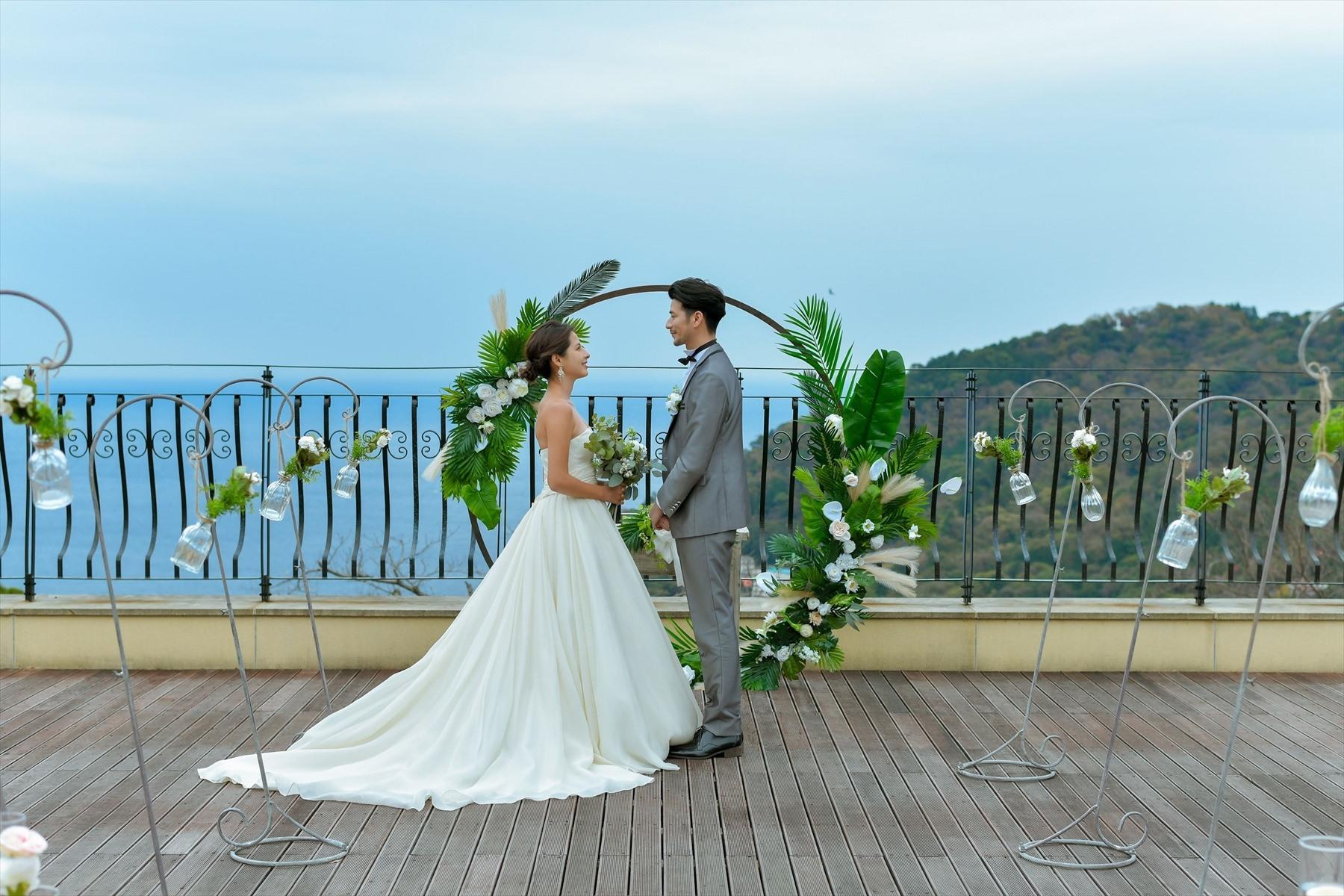 静岡県熱海結婚式 静岡ウェディング オーシャンビュー挙式会場