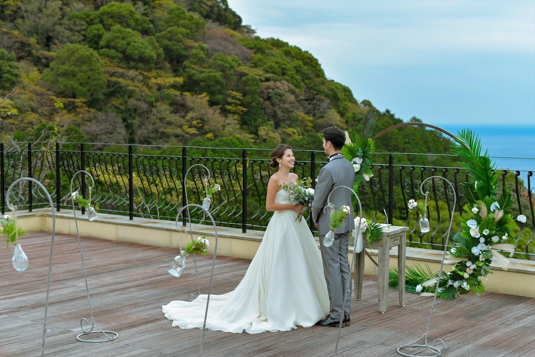 静岡熱海一軒家貸切結婚式 熱海ウェディングフォト撮影 熱海スパ&リゾート