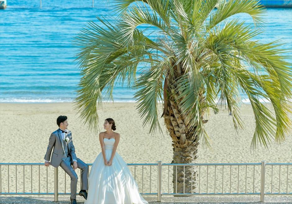 熱海前撮り 熱海ビーチフォトウェディング 静岡結婚式