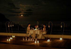 熱海結婚式 熱海ウェディングパーティー キャンドルディナー
